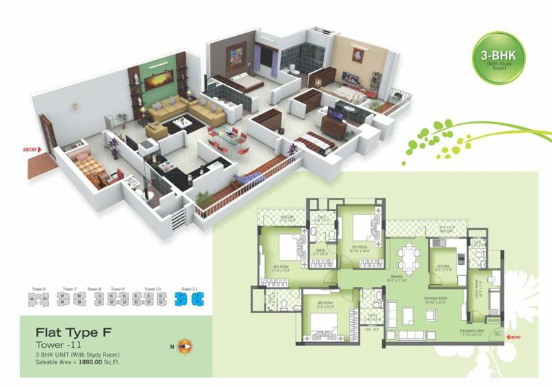 royal green ii floor plan2