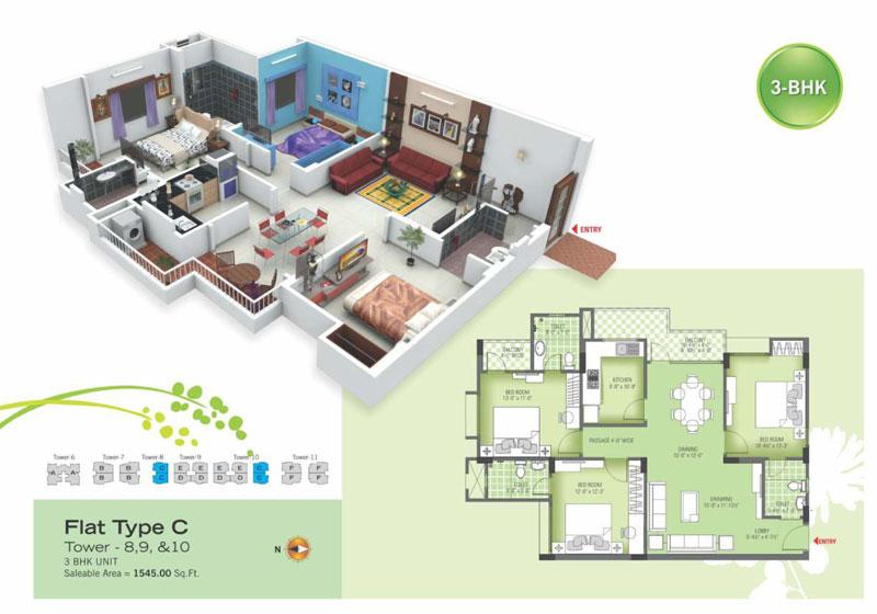royal green ii floor plan3
