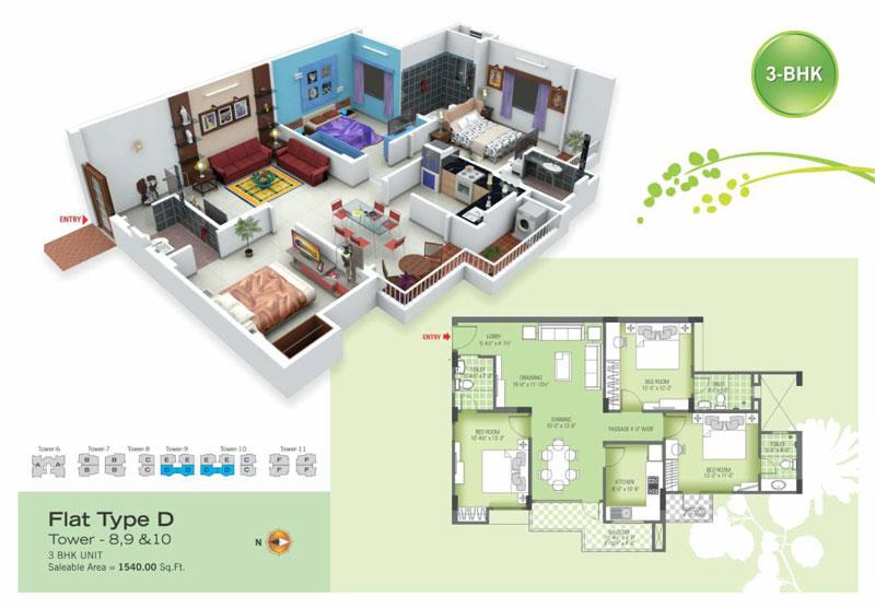 royal green ii floor plan4