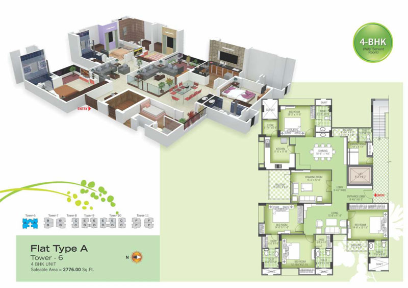 royal green ii floor plan5