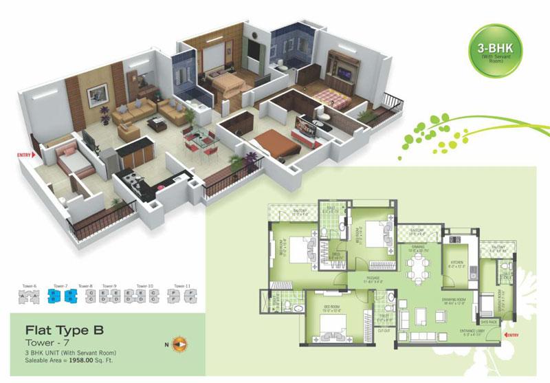 royal green ii floor plan6